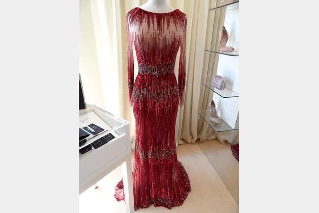 La robe de Jane Fonda