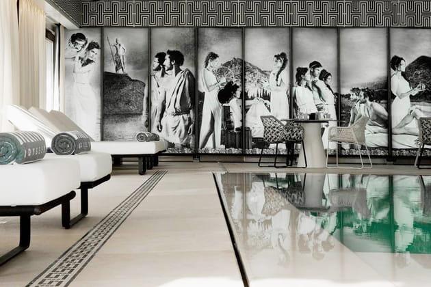 Hôtel Metropole Monte Carlo à Monaco avec l'espace Odyssey signé Karl Lagarfeld