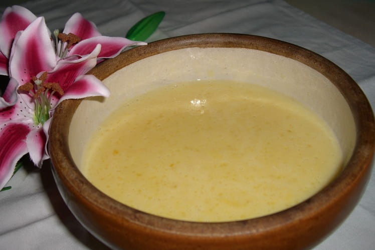 Crème anglaise onctueuse
