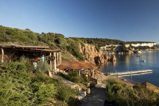 L'hôtel U Capu Biancu à Bonifacio en Corse