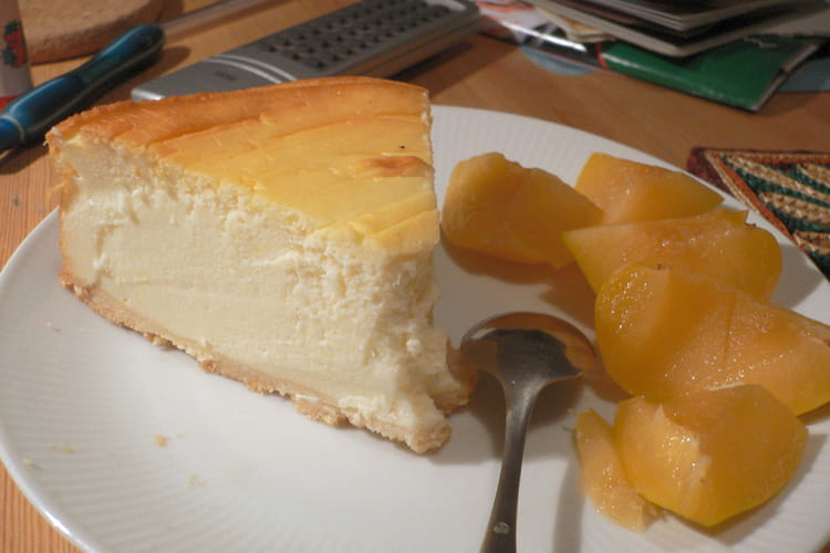 Cheesecake aux mirabelles
