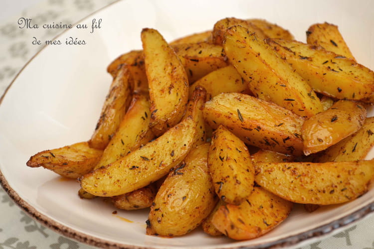 Potatoes au paprika et au thym