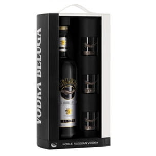 coffret vodka beluga noble