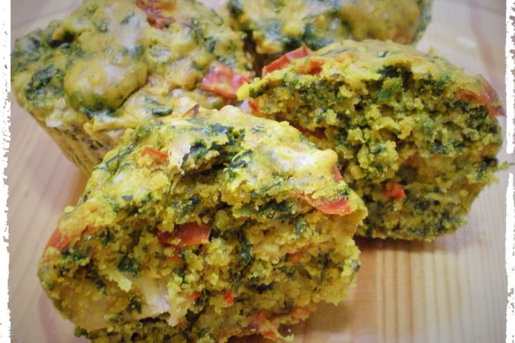 Muffins poulet au curry