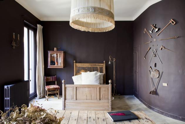 Un lit au salon