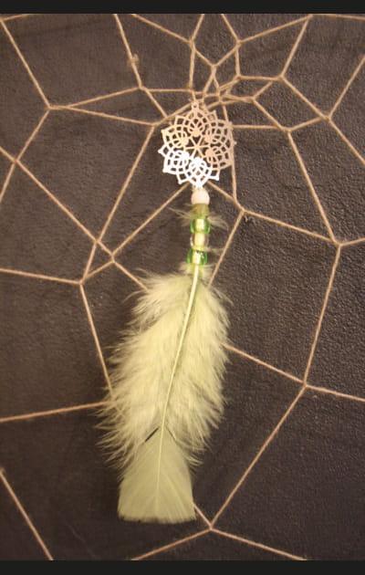 Etape 4: fixer une plume