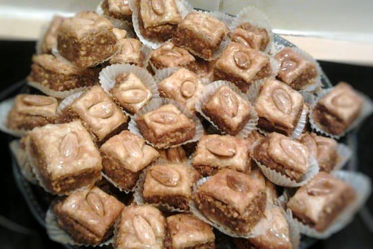 Bakelaoua aux amandes et miel