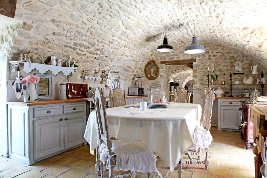 comment russir sa dco style shabby chic - Decoration Maison De Campagne Photos