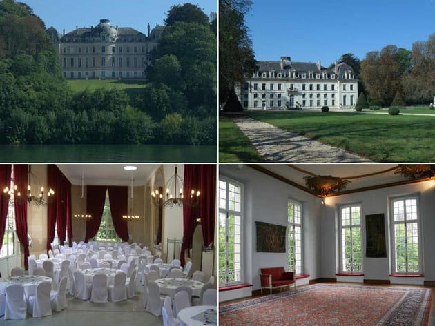 Le Château de Vaux le pénil (77)