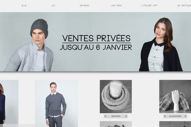 Le e-shop de LOFT design by...