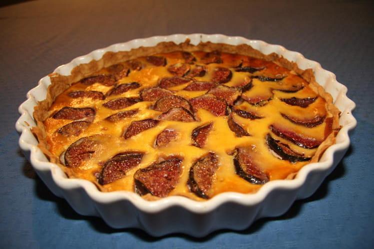 Recette tarte aux figues dessert aux fruits - Cuisiner des figues fraiches ...