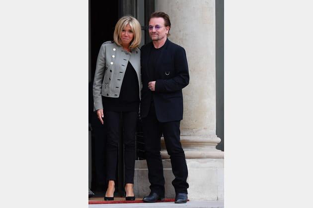 Brigitte Macron le 24juillet 2017