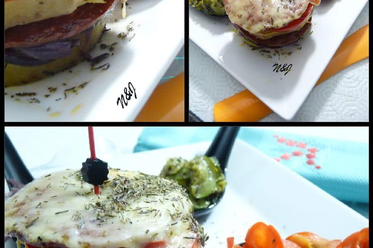 Raclette charcuterie légumes