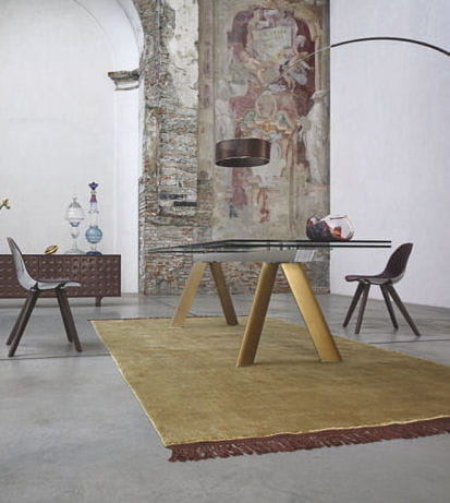 table de repas chronos roche bobois