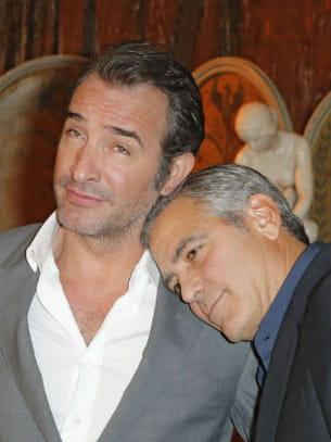 George clooney trouve jean dujardin beau mec - Jean dujardin et george clooney ...