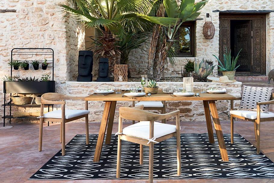mobilier de jardin maisons du monde
