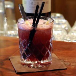 cocktail au vin rouge red velvet