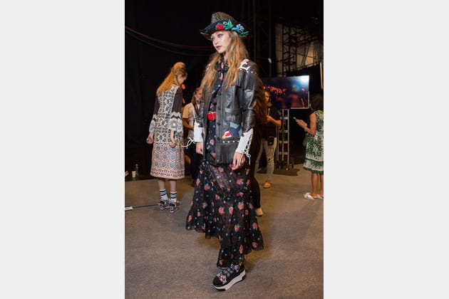 Anna Sui (Backstage) - photo 14