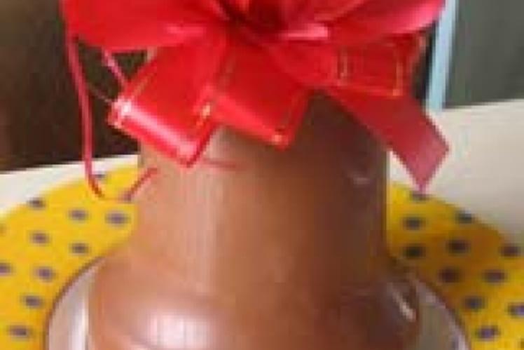 Moulage du chocolat