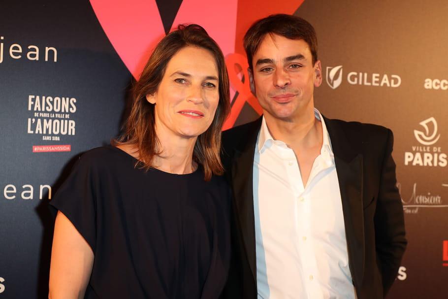 Julian Bugier et sa femme Claire Fournier: leur face à face