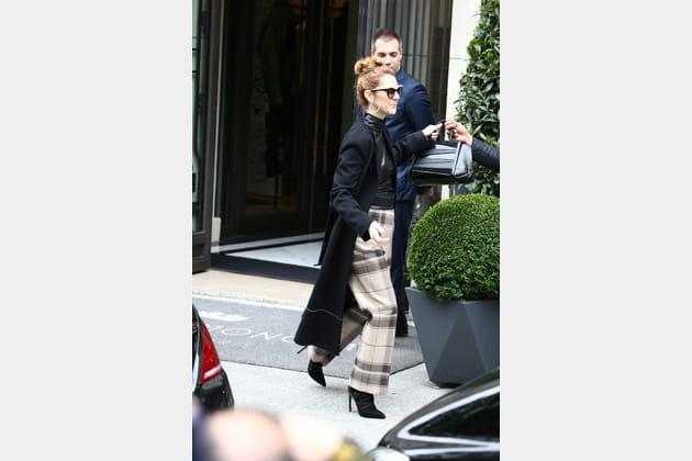 Céline Dion le 3juillet 2016