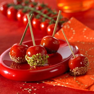tomates cerise d'amour