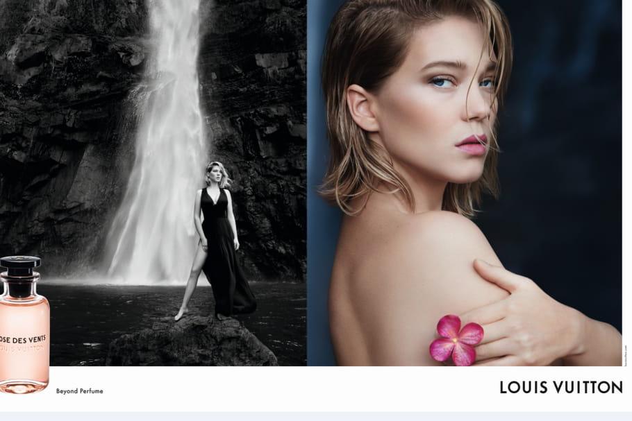 Léa Seydoux, visage des nouveaux parfums Louis Vuitton
