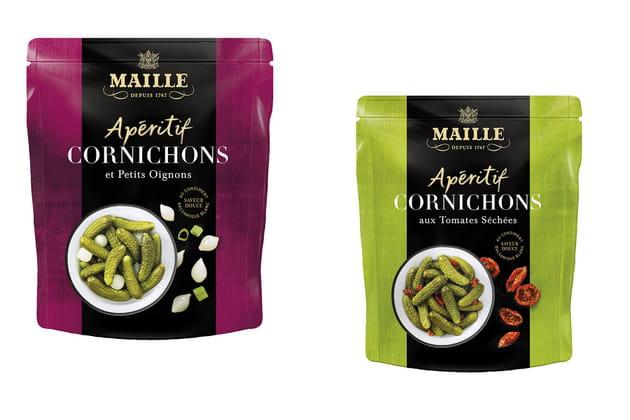 Les cornichons apéritifs de Maille