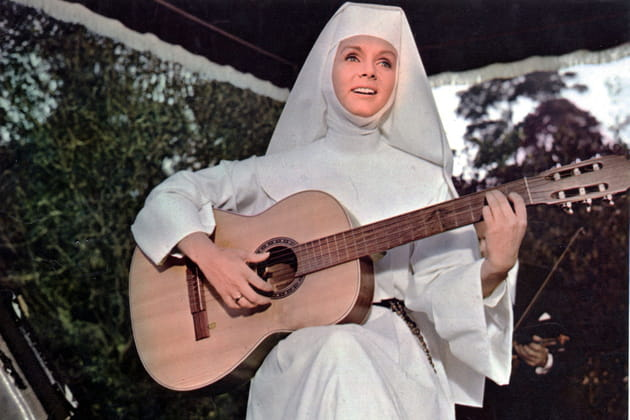 "Dans ""The Singing Nun"", en 1966"
