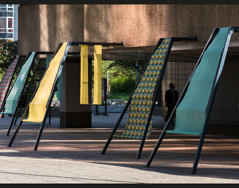 Des structures comme des transitions entre différents espaces
