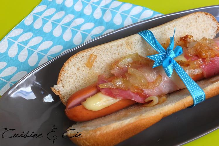 Hot dog alsacien