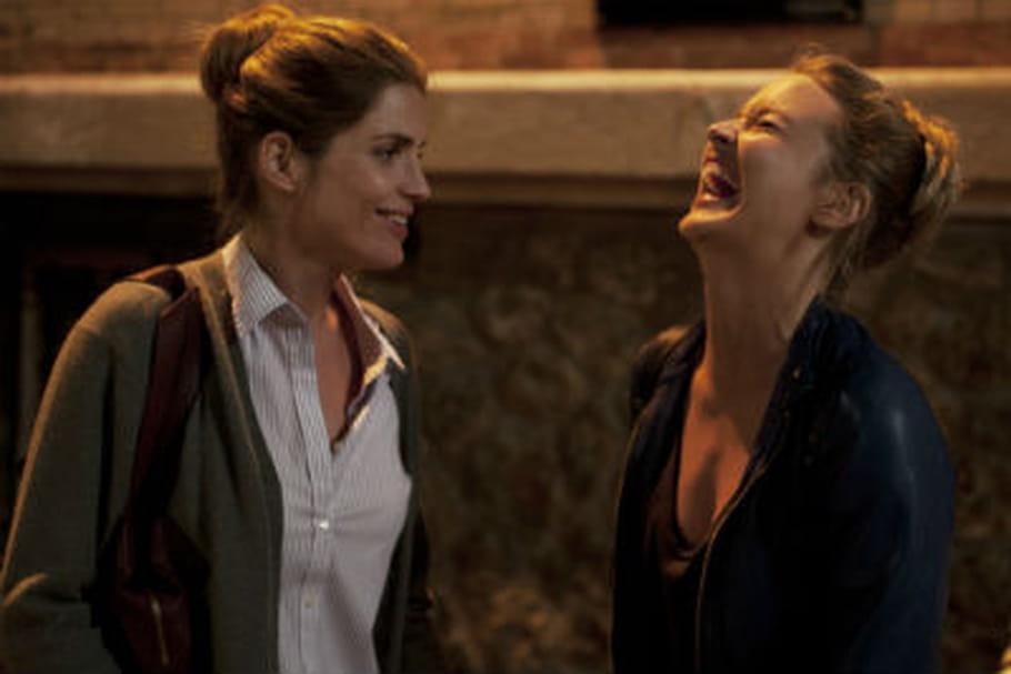 Alice Taglioni et Virginie Effira, actrices complices