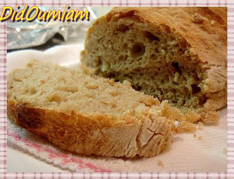 Recette de pain aux pommes de terre sans machine pain la recette facile - Machine a pain boulanger ...