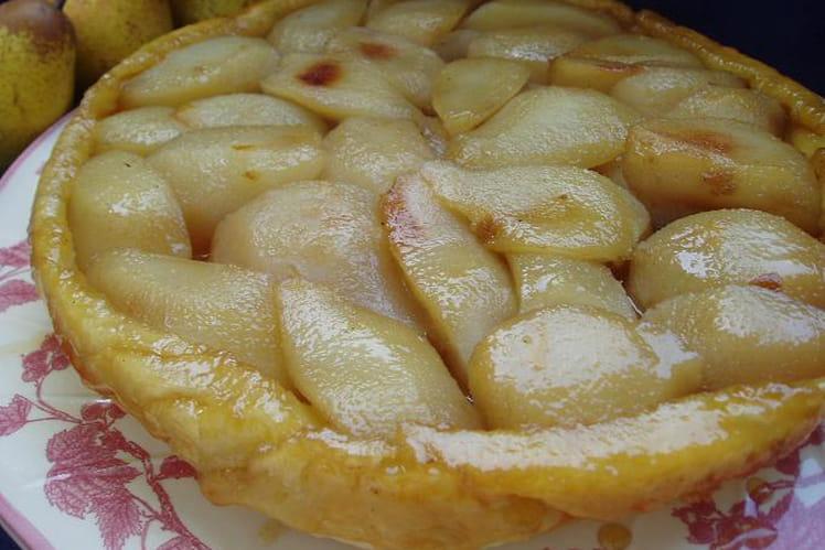 Tarte tatin aux poires épicées