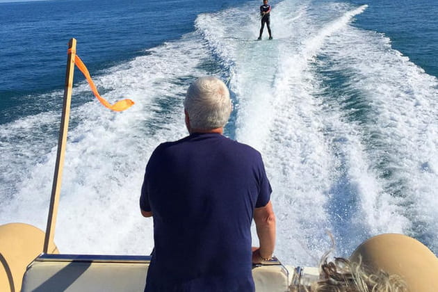 Eric Guérin se jette à l'eau