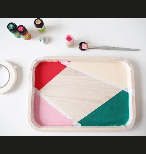 Etape 4: laisser sécher la peinture