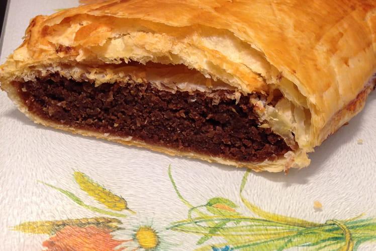 Galette des rois crème d'amandes et chocolat