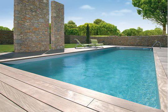 Une piscine dans l'air du temps