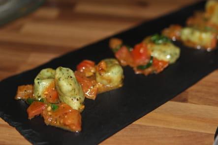 Gnocchi d'épinards sauvages