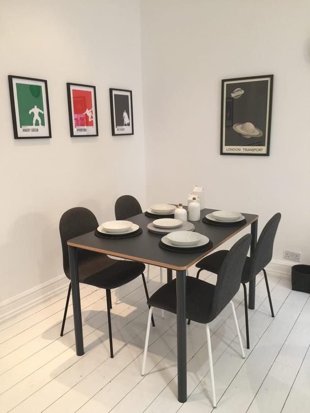 Table, chaises et art de la table