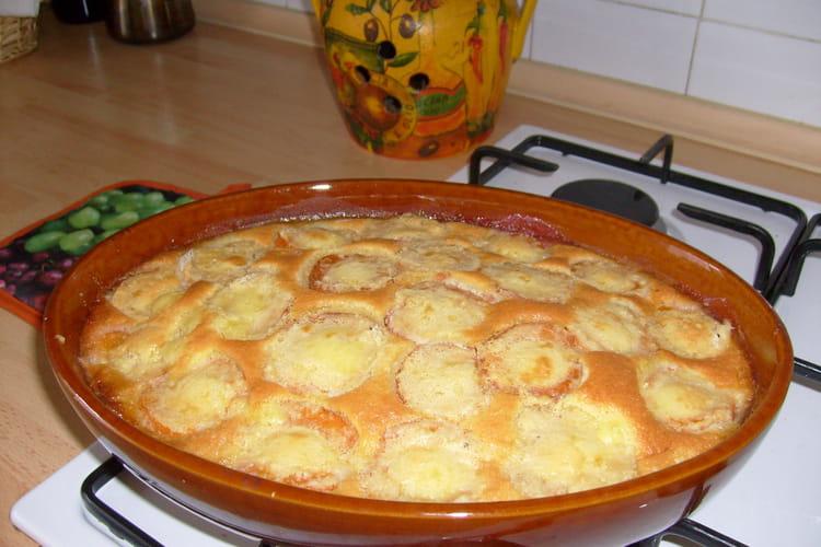 Clafoutis aux abricots à la poudre d'amandes