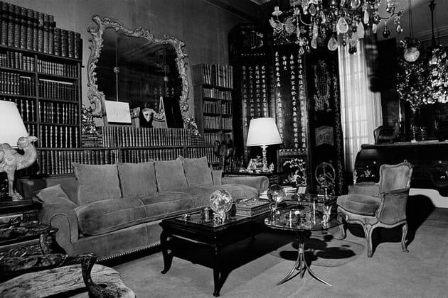 Le salon de l'appartement du 31rue de Cambon