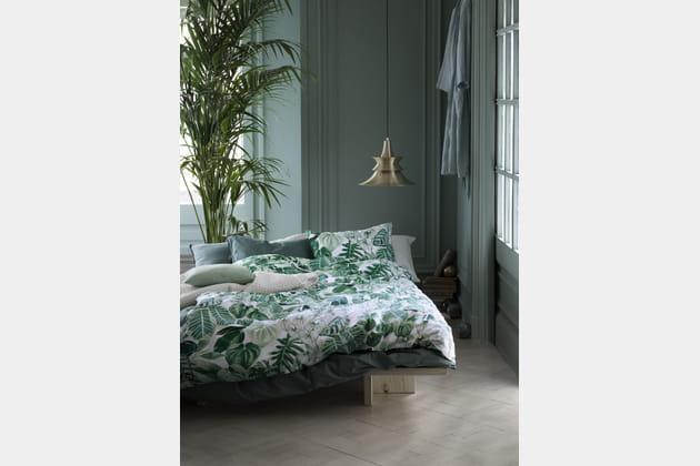 Parure de couette tropicale par H&M