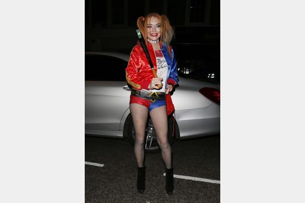 Lindsay Lohan en Harley Quinn