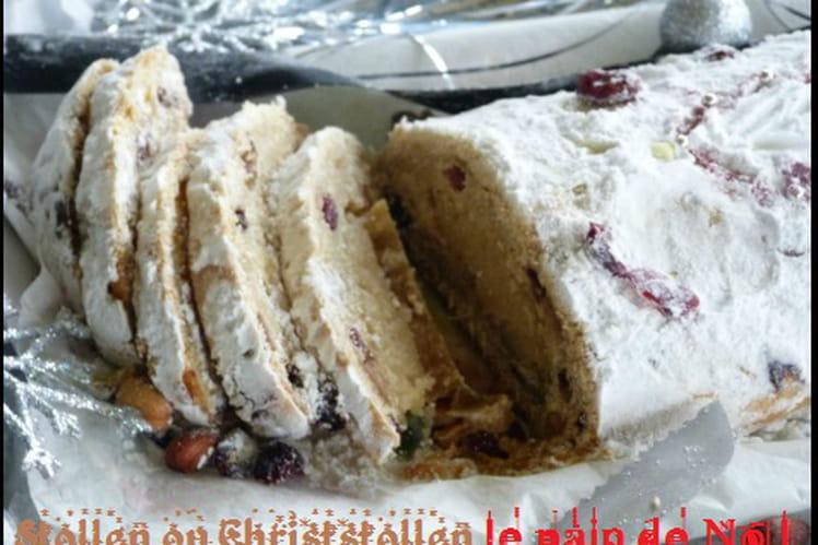 Stollen ou Christstollen, le pain de Noël