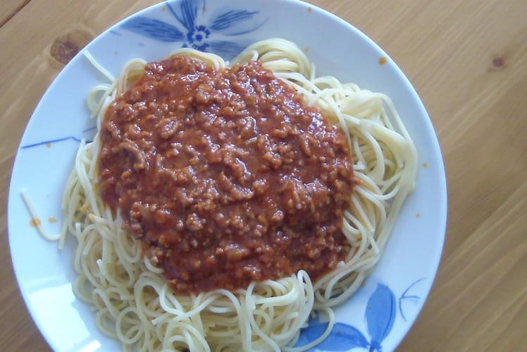 Sauce bolognaise express