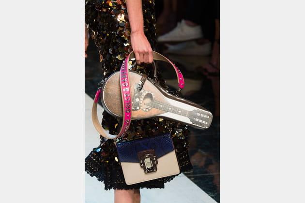 Le sac mandoline du défilé Dolce & Gabbana