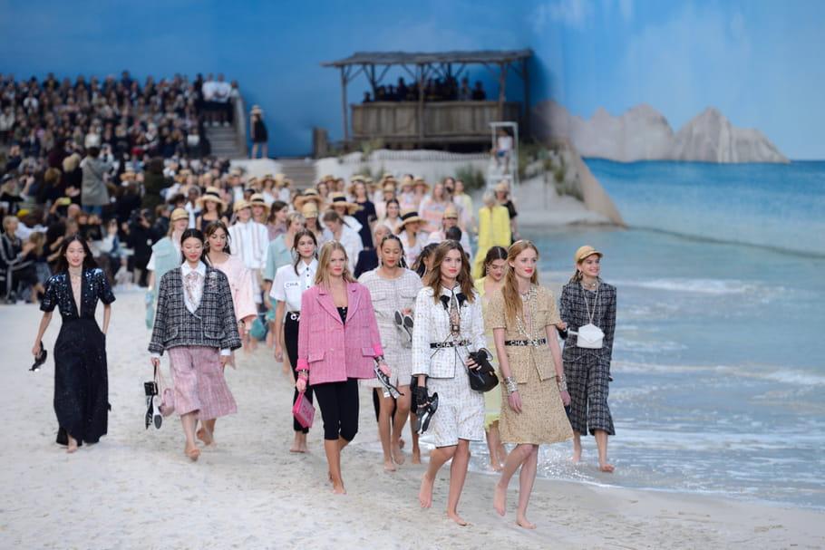 Chanel et la mode, une histoire d'amour à la plage