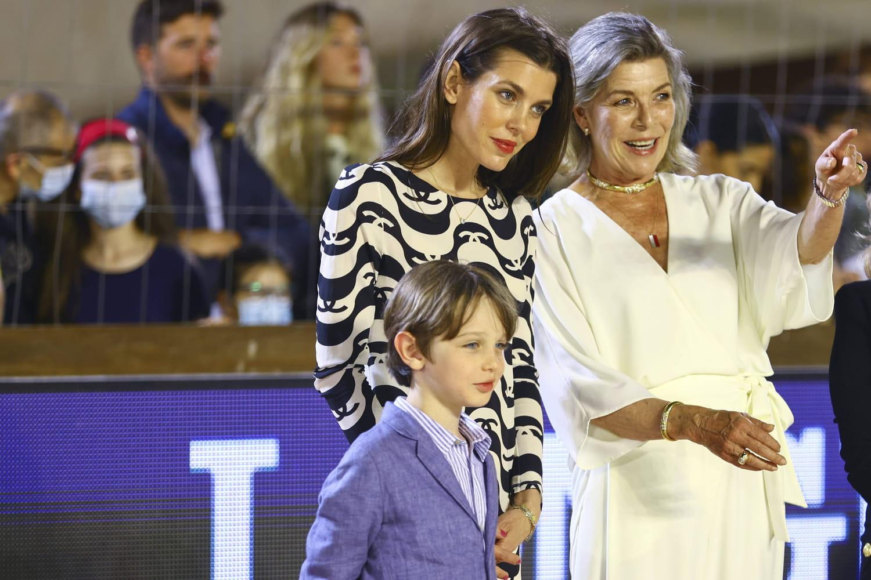 Raphaël Elmaleh: le fils de Charlotte Casiraghi, de sortie avec Caroline de Monaco