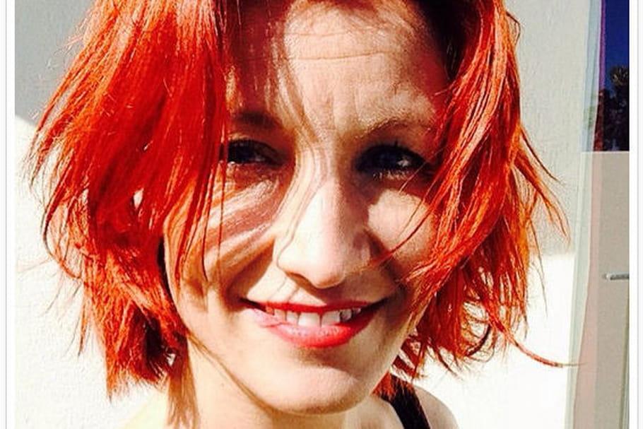 Alexandra Lamy passe du blond au roux !